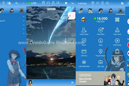 Download Tema Line Anime Kimi no Nawa