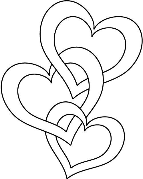 Dibujos de San Valentin para Colorear, parte 6