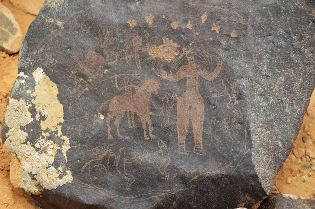 Ancient petroglyphs discovered in Jordan's Black Desert