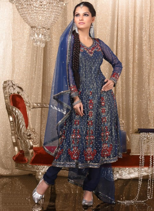 Anarkali Umbrella Frocks: Pakistani Dresses