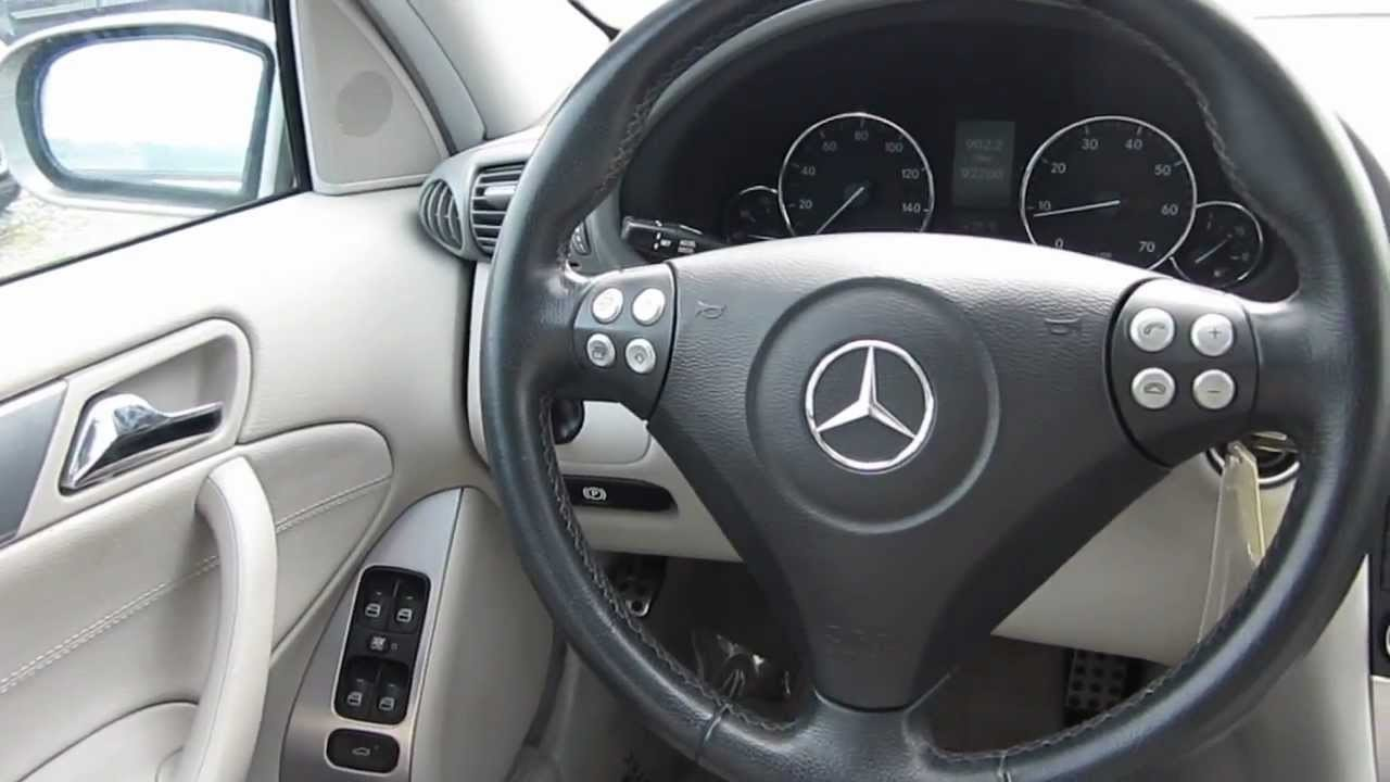 2005 Mercedes-Benz c230 kompressor interior