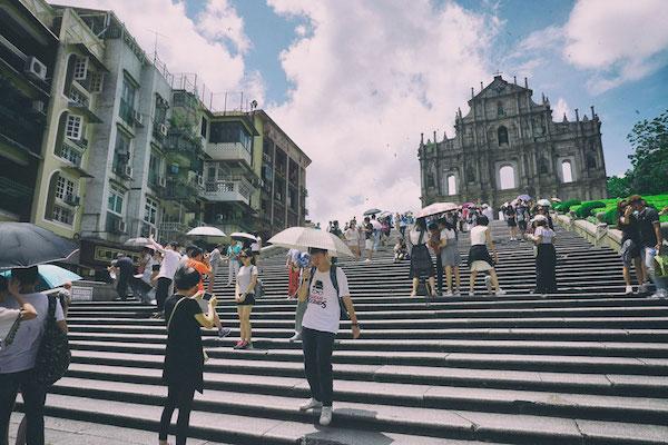 セントポール天主堂の階段