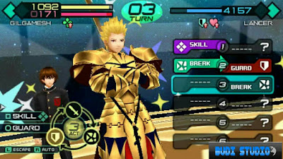 Fate / Extra CCC PSP PPSSPP 3
