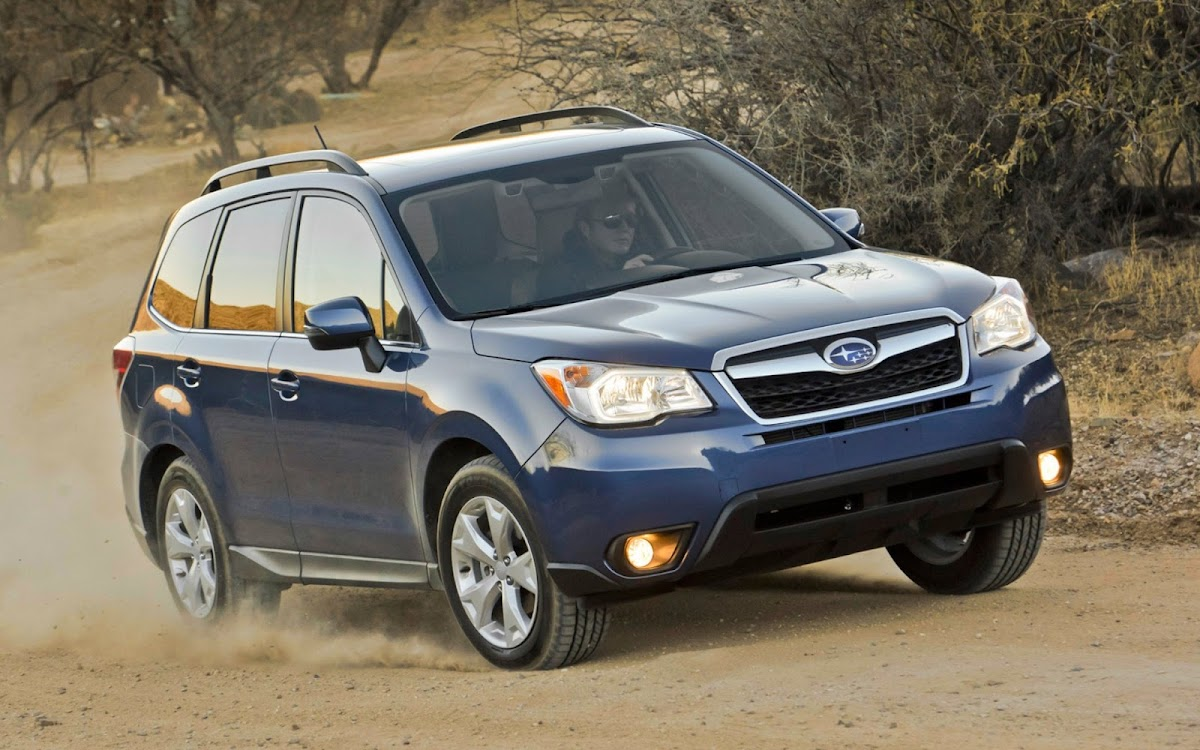 2014 Subaru Forester Widescreen HD Wallpaper 5