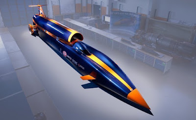 Bloodhound SSC (SuperSonic Car)