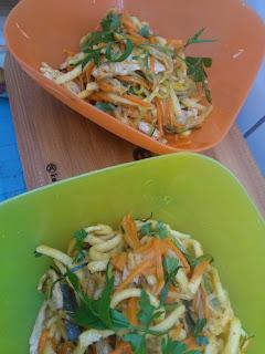 Stir-fry z indykiem i warzywami