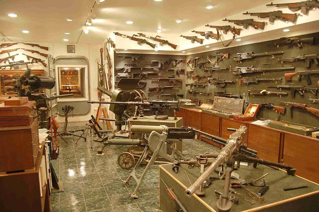 Charlton Heston's gun collection