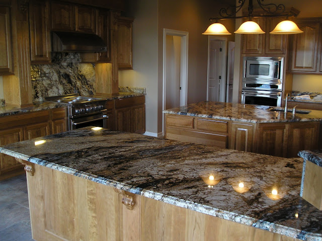 Maid For You: The Tender Loving Care of Stone Flooring ... on Maple Cabinets With Black Granite Countertops  id=13308