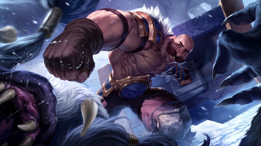 Braum, LoL, Legends of Runeterra, 4K, #4.1499