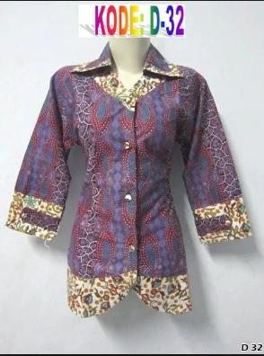 Model Baju Kemeja Wanita Motif Bunga Terbaru