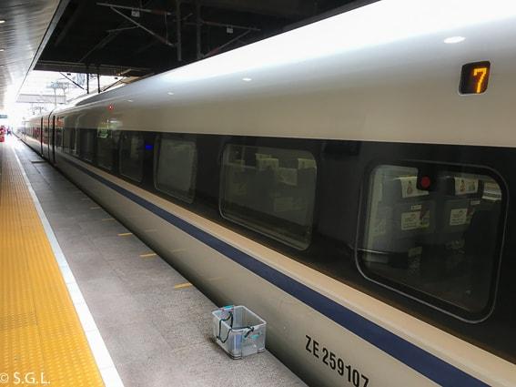 Tren bala. Viaje a Xian en tren desde Pekin
