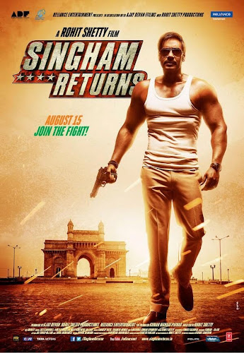 Singham Returns (2014) Movie Poster