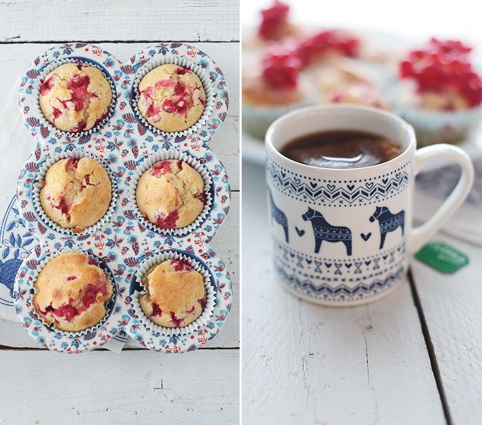 Muffins, Johannisbeeren, Rezept, Grundrezept