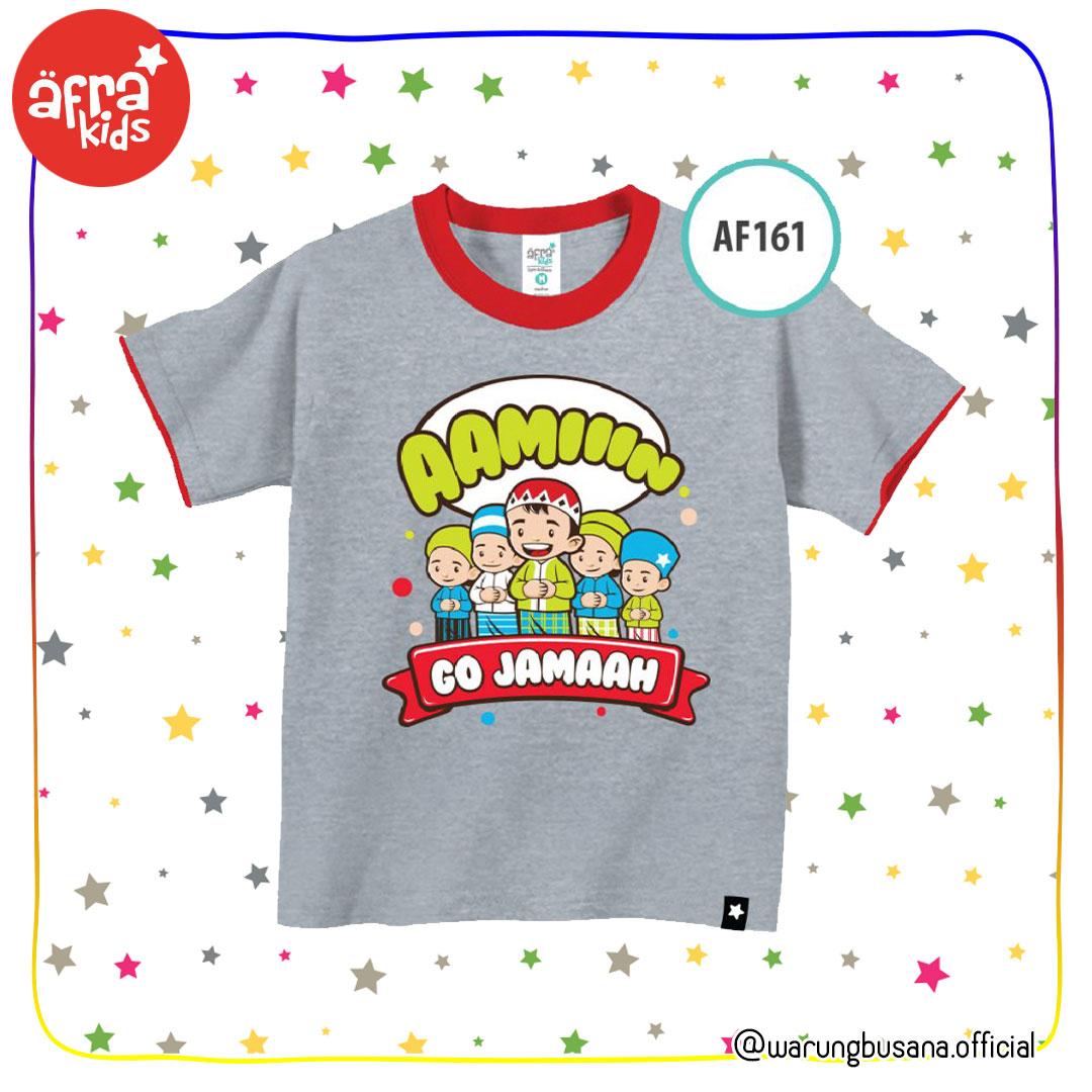 Afrakids Kaos Anak AF161 Go Jamaah