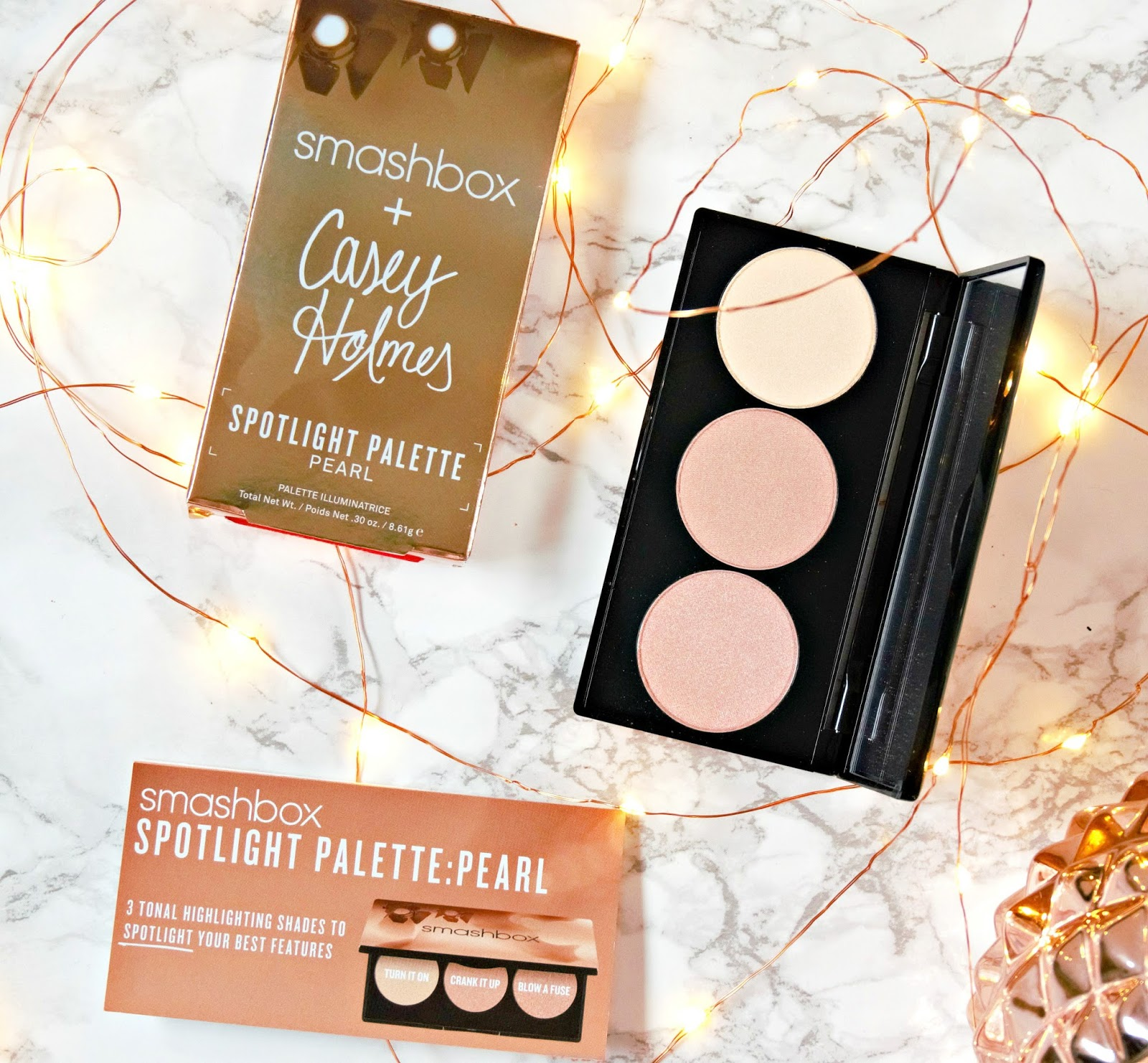 Smashbox x Casey Holmes Spotlight Palette Review