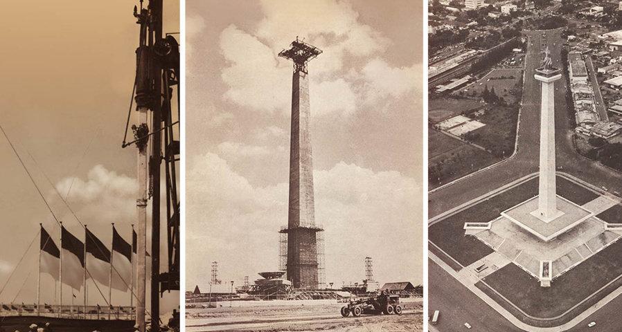 Objek Wisata Monumen Nasional Monas Icon Wisata Ibu Kota Jakarta