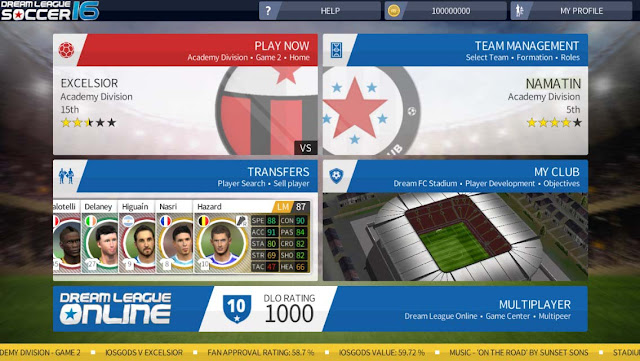 Cheat Dream League Soccer IOS