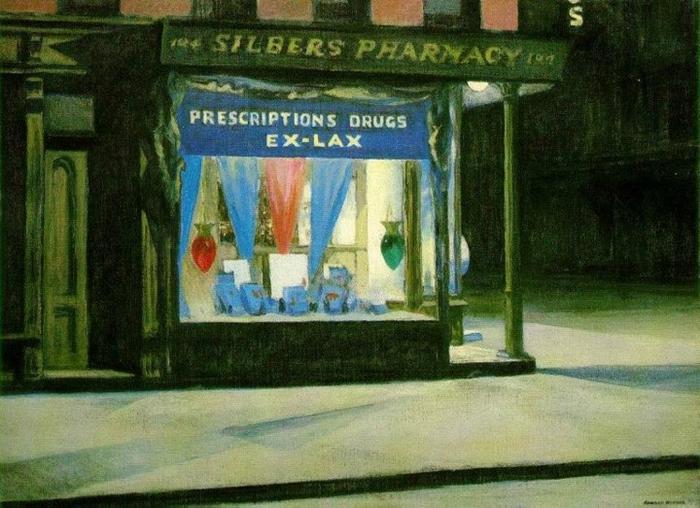 Edward Hopper 1882-1967   American Realist painter