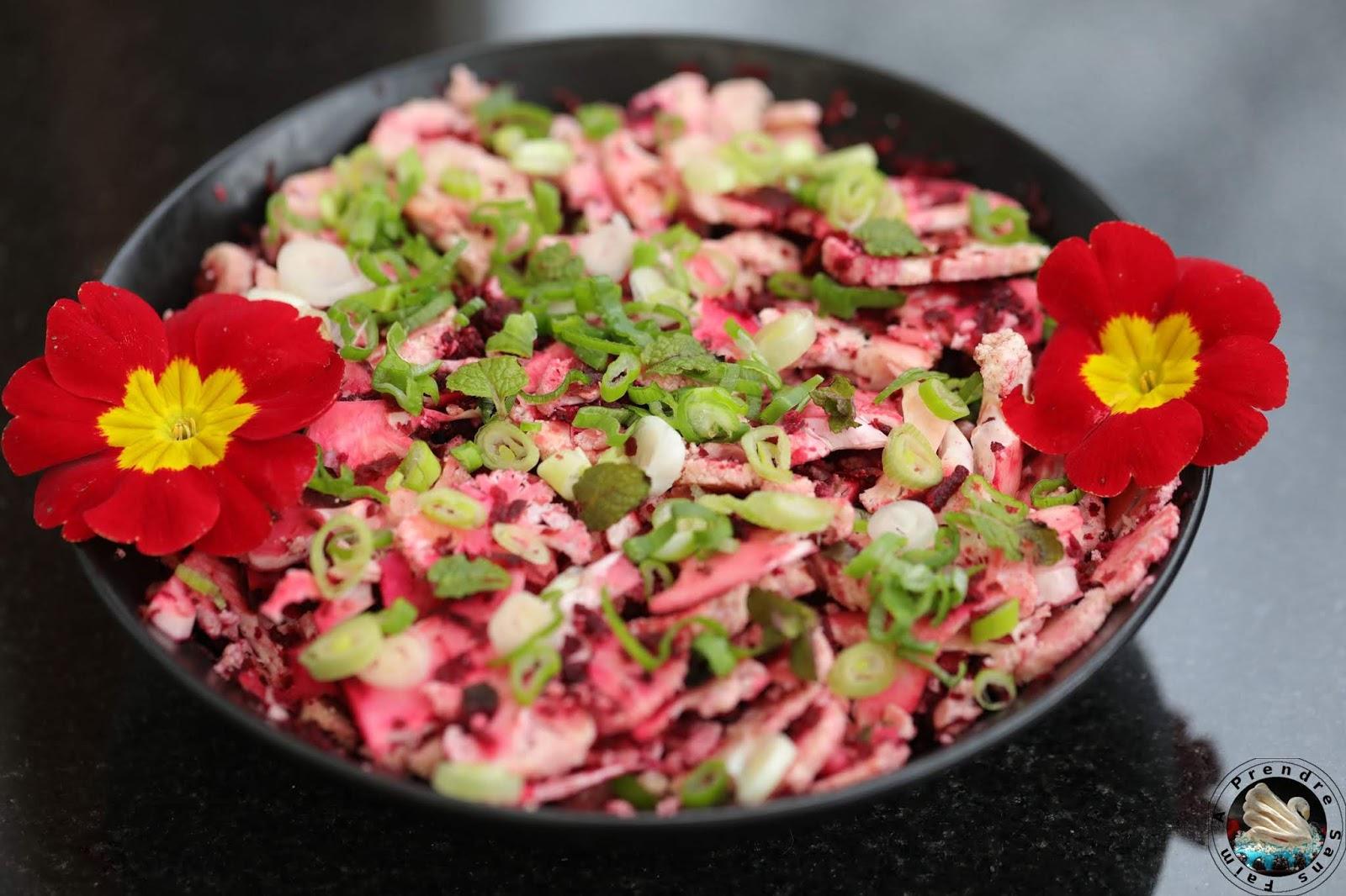 Salade healthy au chou-fleur