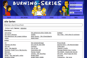 burning series serien downloaden