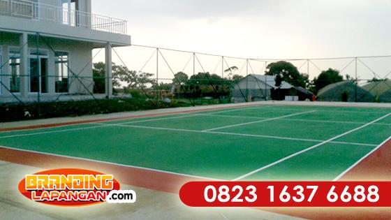 WA +62 823-1637-6688 (Telkomsel), Pengecatan Lapangan Tenis