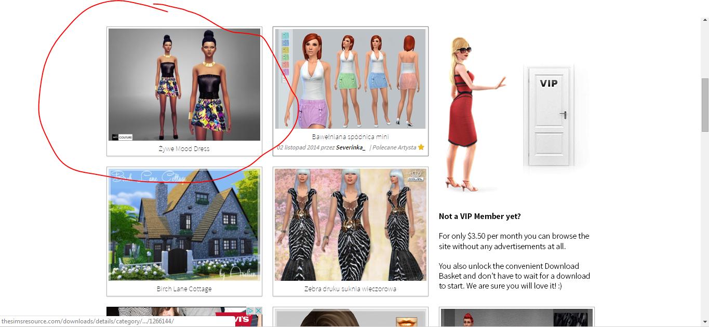 e23d0fe3efa7c5 Jak pobierać ubrania do the sims? - Oficjalny blog TOPModel
