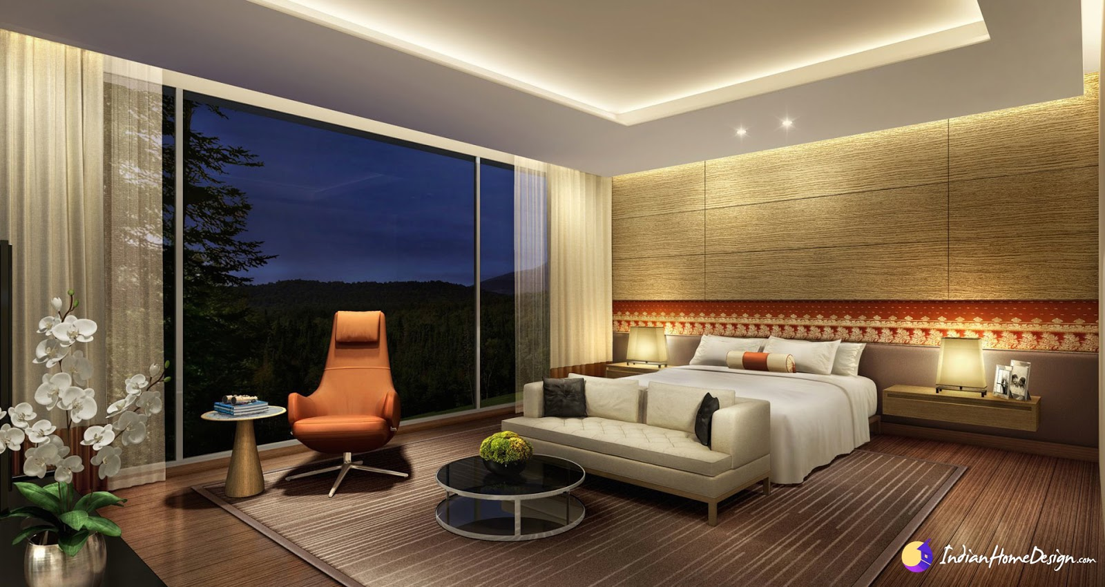 Attractive Luxury Bedroom Design Ideas by by Bala Padma