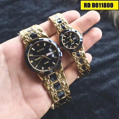 Đồng hồ cặp đôi đẹp nhất RD Đ011800