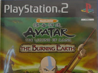 Download Game PS2 - Avatar The Last Airbender The Burning Earth Terbaru