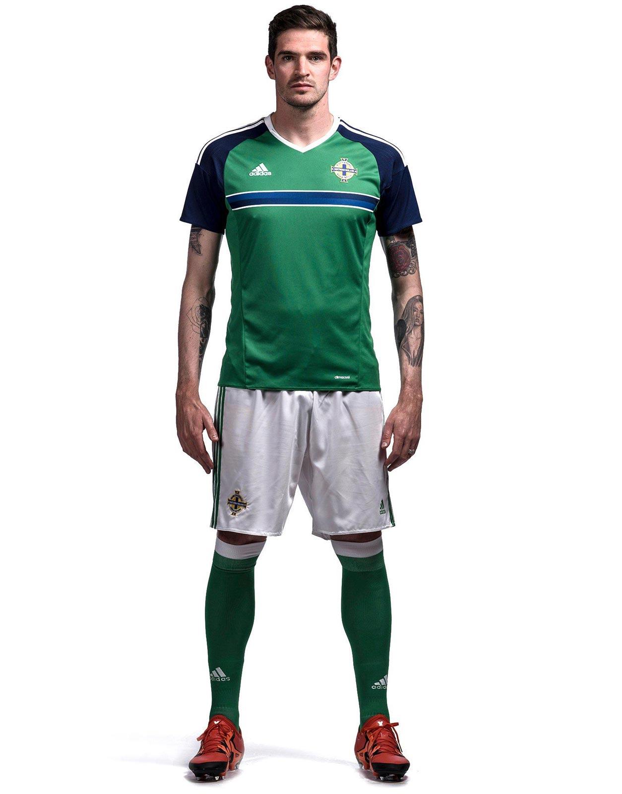 Northern Ireland Euro 2016 Home Kit Released - Footy Headlines