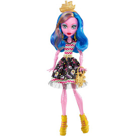 Monster High Gooliope Jellington Shriek Wrecked Doll