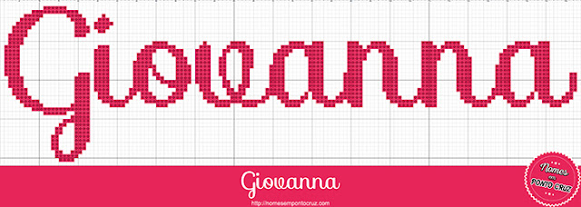 Nome Giovanna em Ponto Cruz