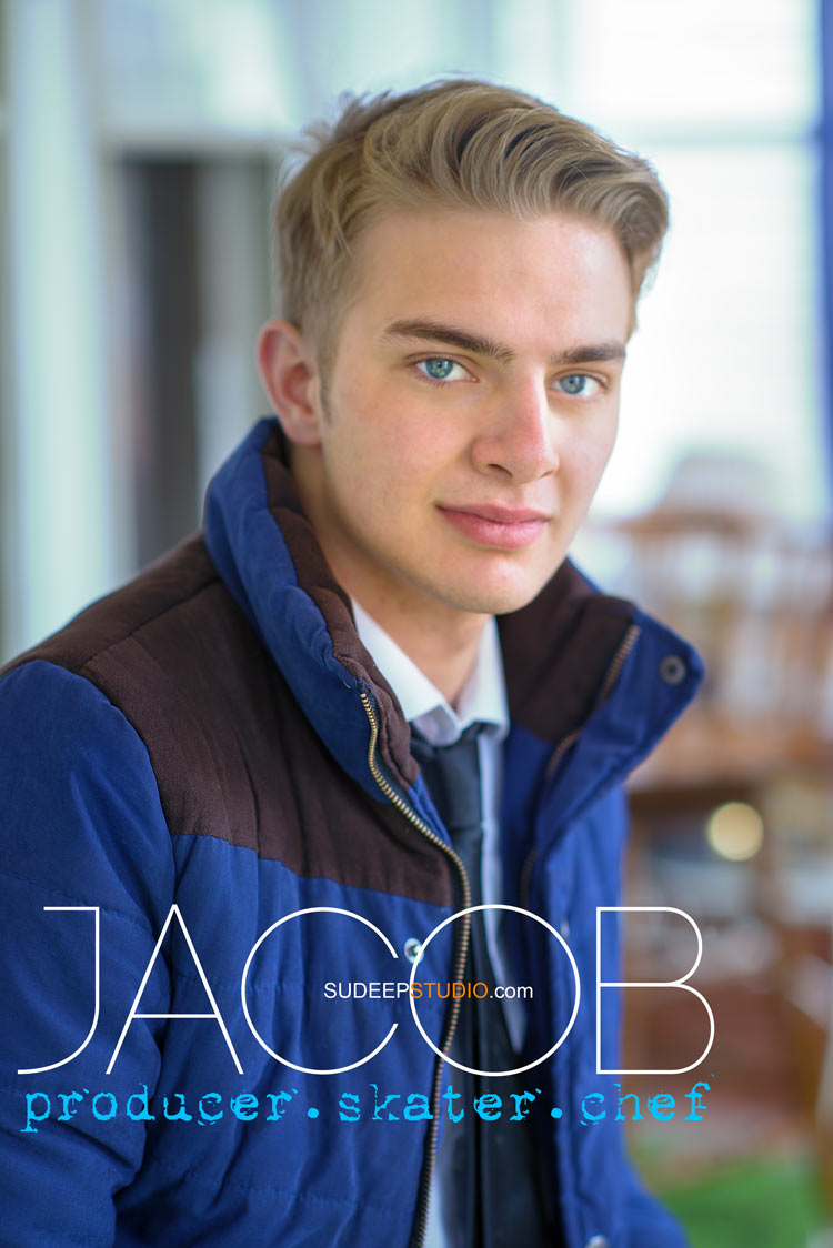 Stylish Senior Pictures for Guys - Ann Arbor - Sudeep Studio.com