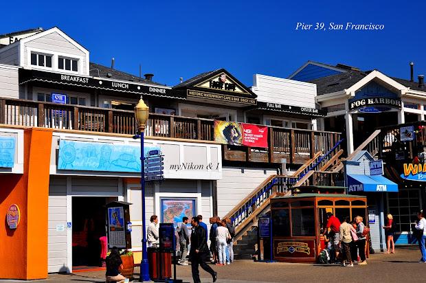 Nikon And San Francisco Eagle Cafe Pier 39