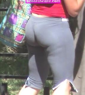 mujeres culonas shorts licra
