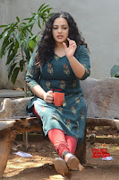 Nithya Menon promotes her latest movie in Green Tight Dress ~  Exclusive Galleries 011.jpg
