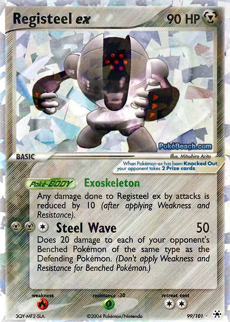 Registeel Pokemon Card Registeel ex – EX Hi...