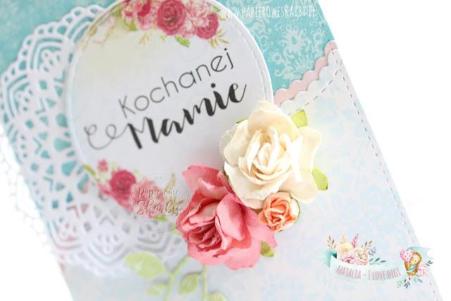 scrapbooking cardmaking ilovedigi digi stempel digistamp handmade rękodzieło ręcznie robiona kartka na dzień mamy na dzień matki dla prezent laurka papierowe kwiaty mother's day card cards