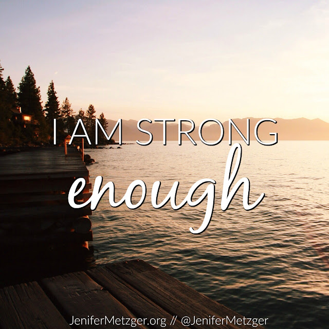 I am strong enough...with God. #IF_IAmStrong #strength #God