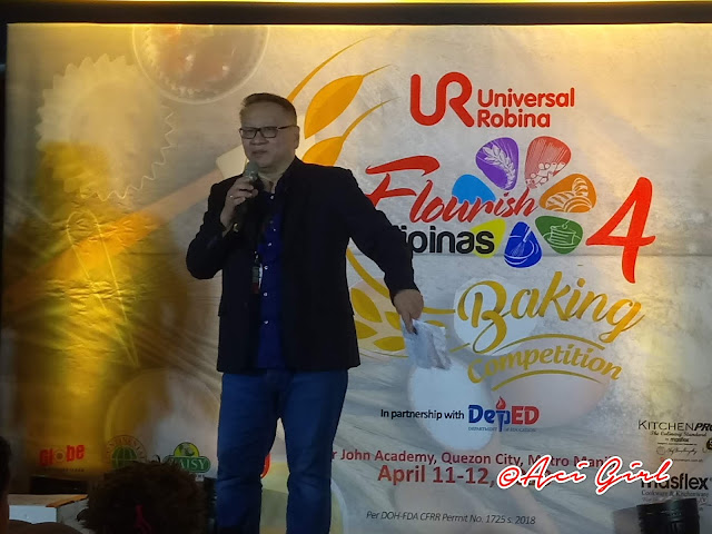 Mr. Ellison Dean C. Lee, URC Flour and Pasta Division VP and Business Unit Gener Manager