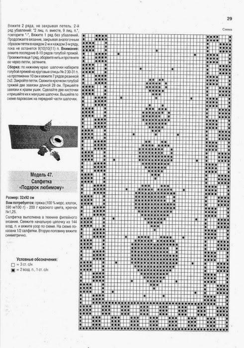 Célèbre Hobby lavori femminili - ricamo - uncinetto - maglia: Schema  QB64