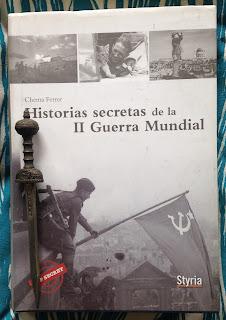 Portada del libro Historias secretas de la II Guerra Mundial, de Chema Ferrer