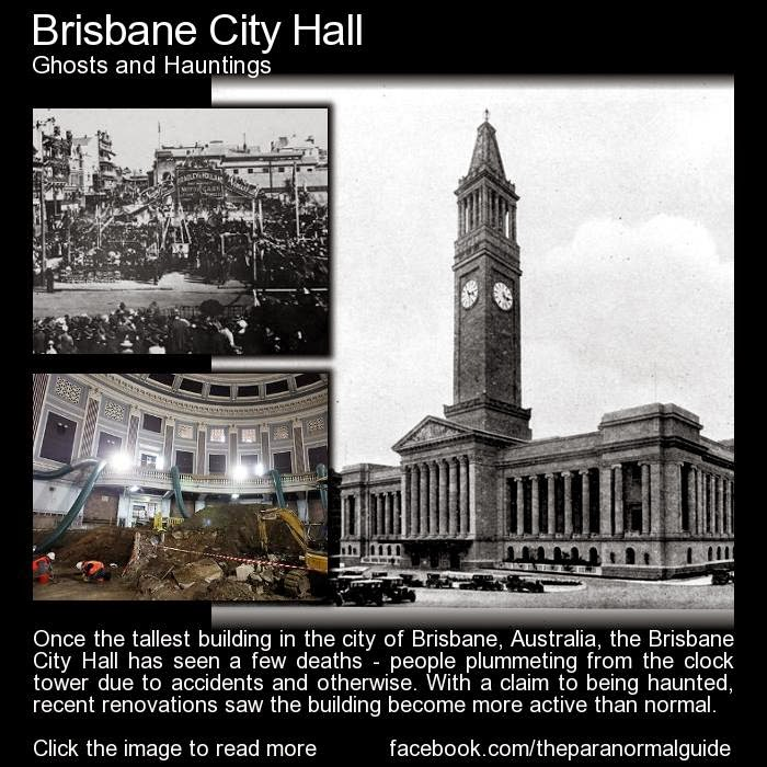 List Of Haunted Places In Brisbane: Scared Sheetless: The Paranormal Guide Presents: Ghosts