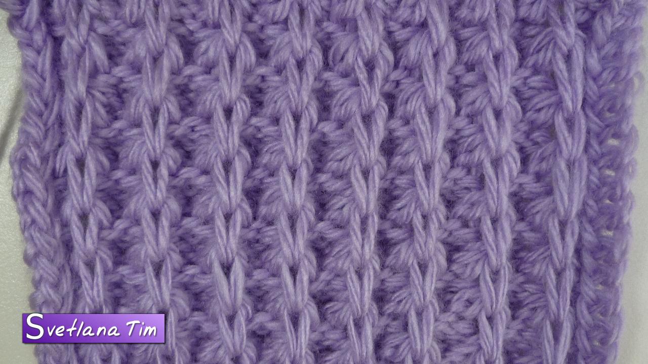 вязание спицами узоры схемы и видеоуроки Svetlana Tim вязание