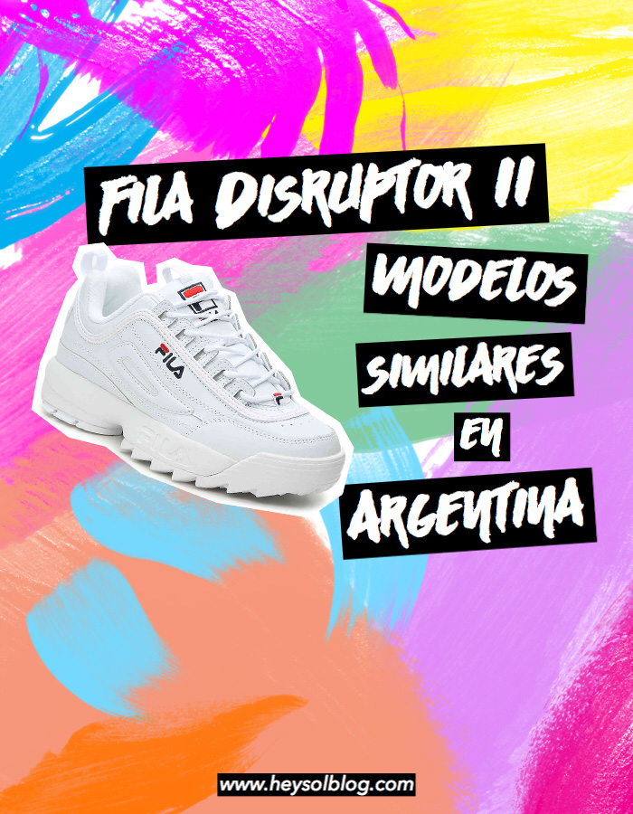 SolBlog IiModelos Disruptor De Hey ArgentinaFila Moda EHID29