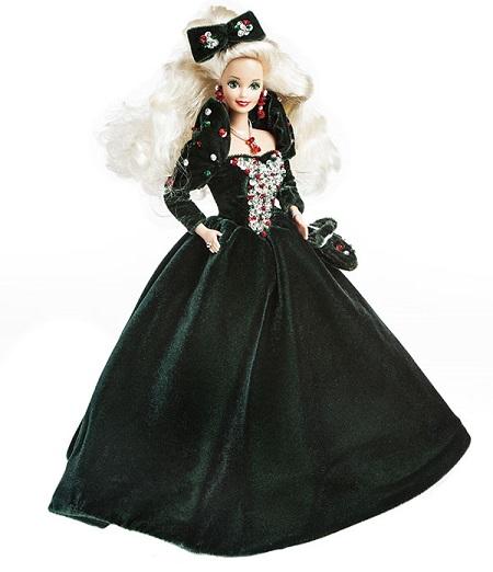 Barbie Coleção Feliz Natal 1991
