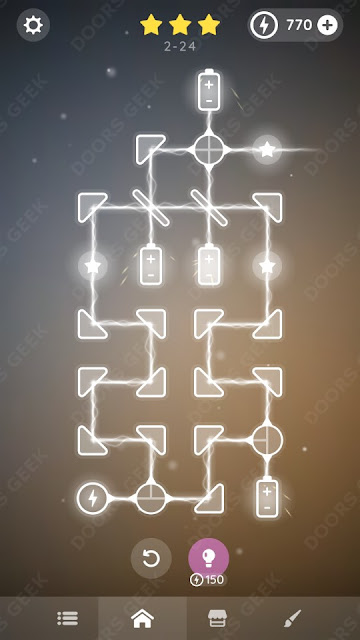 Laser Overload [Beginner] Level 2-24 Solution, Walkthrough, Cheats