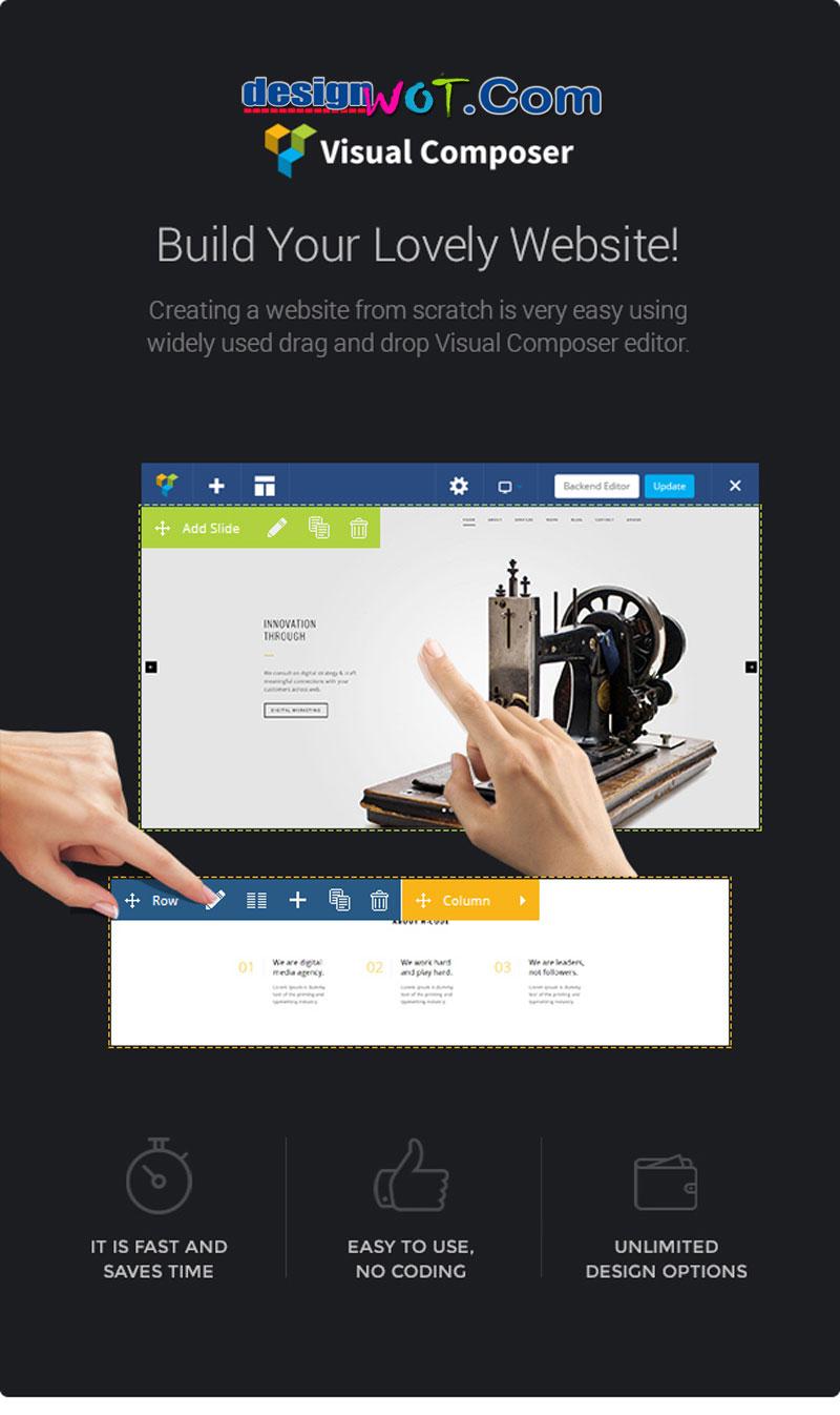 H-Code Responsive Multipurpose WordPress Theme