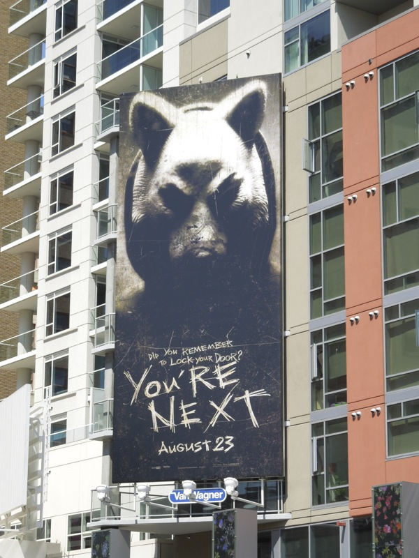 You're Next movie billboard