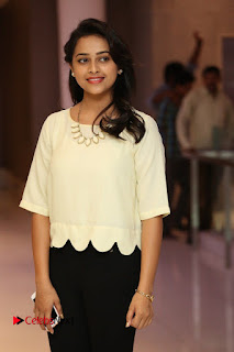 Actress Sri Divya Pictures in Jeans at Rayudu Movie Team Interview  0062
